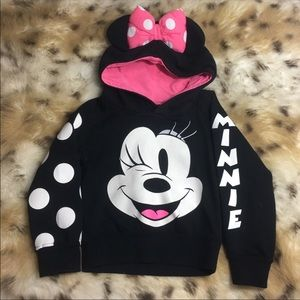 Disney Minnie Mouse Hoodie Sweatshirt
